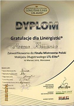 lpng time -dyplom finalisty mistrzostw